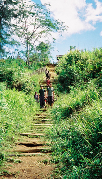 Herowana walkway