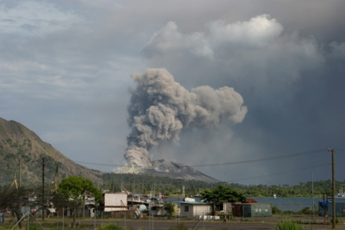 Rabaul Volcano 1