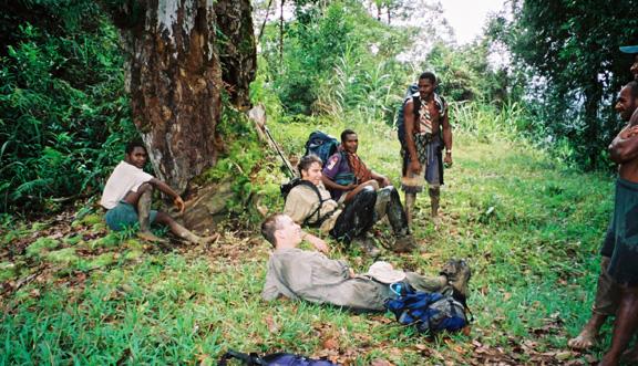 rest before village